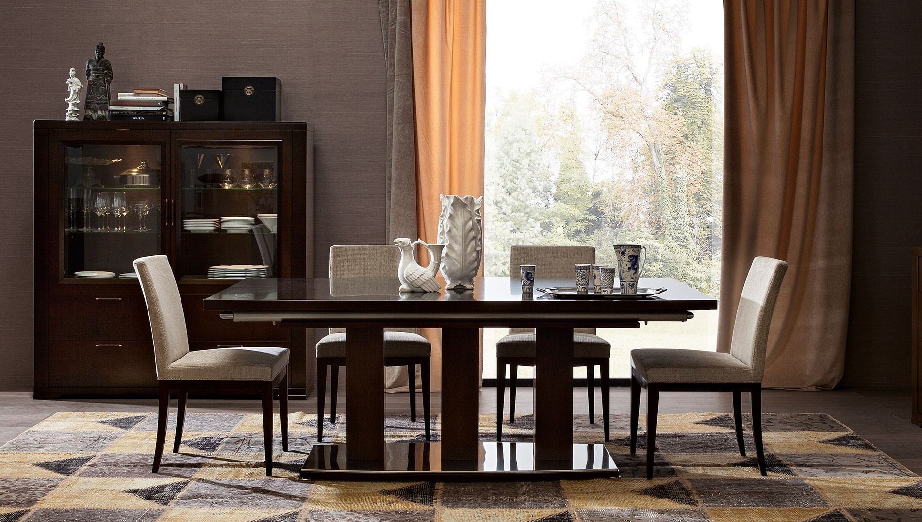dining tables fabuluxe interiors - Dining Room Furniture Dallas